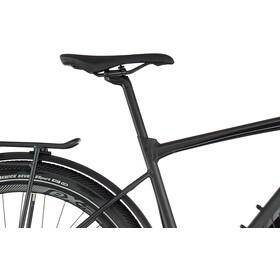 Giant FastRoad E+ EX Pro, solid black gloss matte